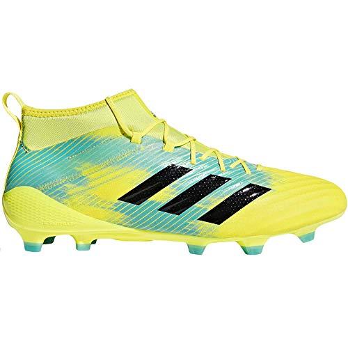 adidas Predator Flare (fg), Scarpe da Rugby Uomo, Giallo (Shoyel/Cblack/Hiraqu Shoyel/Cblack/Hiraqu), 44 2/3 EU