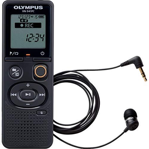 Olympus VN-541PC + TP8 - Dictáfono (60 h, Larga duración (LP), 46 h, WMA, 5-32 Kbit/s, 1570 h)