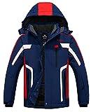 Wantdo Men's Ski Jacket Warm Winter Waterproof Ski Parka...