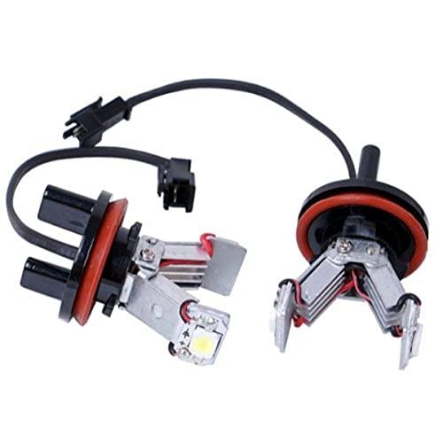 akhan stlh82 – Angel Eyes LED feu de position SMD 6 W H8 Convient pour pour BMW E82 E87