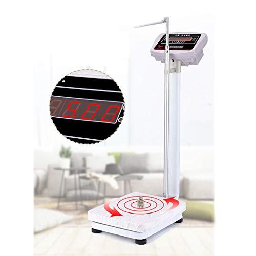 Balanzas electrónicas de Alta precisión, Alturas Plegables y balanzas para gimnasios, clínicas Hospitalarias, 180 kg.