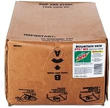 diet mountain dew bag in box