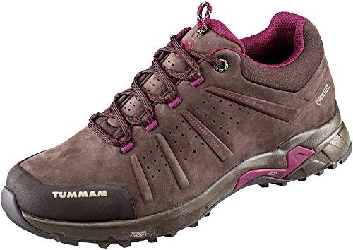 Mammut Convey Low GTX Hiking Boots - Women's, Coffee-Beet, US 8, 3030-03230-7431-US 8