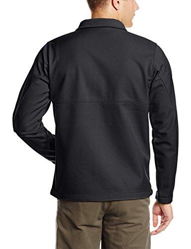 Columbia Ascender Softshell Jacket, Water & Wind Resistant Vareuse, Noir, L Homme