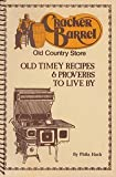 Cracker Barrel Old Country Store: Old Timey Recipes & Proverbs to Live By, Vol. 1 by Phila Rawlings Hach (1983) Plastic Comb