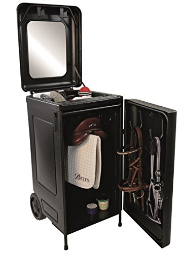 Reitsport Amesbichler Mobile Sattelbox Sattelschrank auf Rollen Kunststoff 056/423