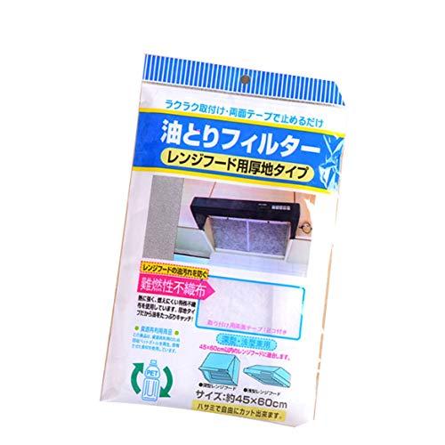 SHTAO Universal Use Kitchen Absorbierendes Papier Vliesstoffe Anti-Öl-Baumwollfilter Dunstabzugshaube Filter für Dunstabzugshaube