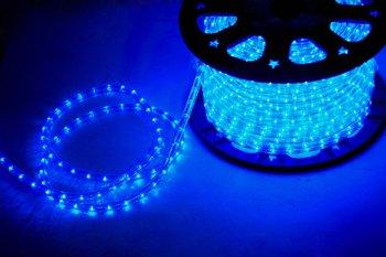 """CBconcept® Low Voltage 12V BLUE 2-Wire 1/2"""" LED Rope Light - Boat/Camper/RV Lighting"""