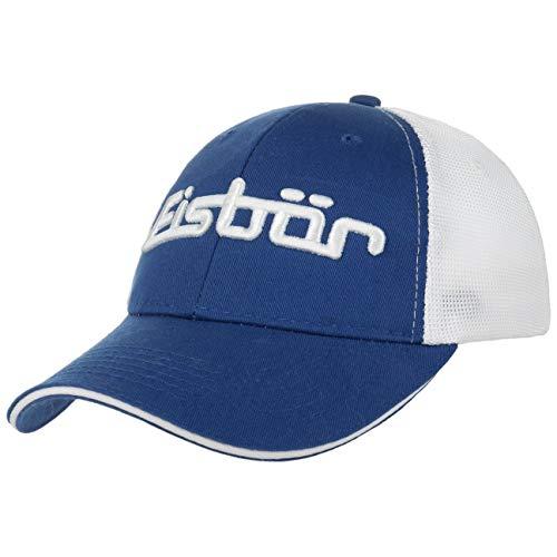 Eisbär Mesh Baseballcap Cap Kappe Basecap Meshcap (One Size - blau-weiß)