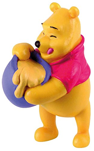 12340 - BULLYLAND - Walt Disney Figurine Winnie L'Ourson avec Pot de Miel