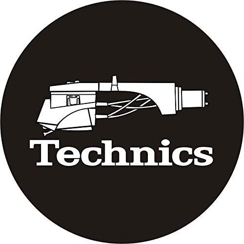 Technics 60644Headshell 1Slipmat–(schwarz/weiß