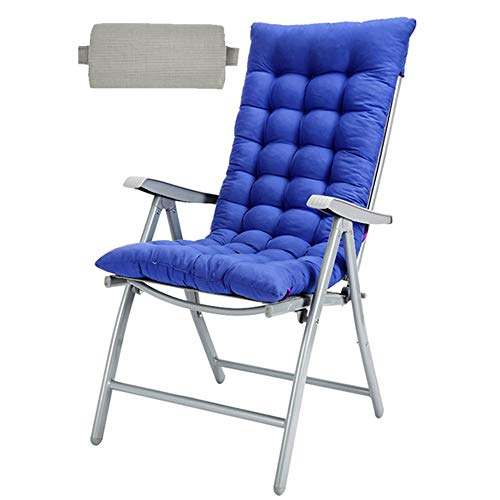 YLCJ Leisure chair Vouwkruk Binnen- en buitenbank Vouwstoel (Kleur: blauw) Blauw