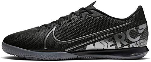Nike Unisex Vapor 13 Academy Ic Fußballschuhe, Schwarz Black MTLC Cool Grey Cool Grey 001, 45.5 EU