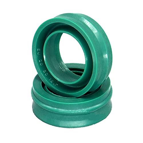 1pcs Verde de la UE Tipo Cilindro neumático del Sello de Aceite Sello de Polvo Diámetro del Eje OD 12-63mm 19-75mm, 50x60x12.2mm