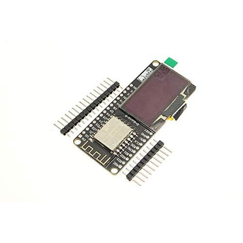 KEMEILIAN Weit verbreitet WiFi und ESP8266 NODEMCU + 1,3-Zoll-OLED-Board White Development Board für Arduino - Produkte, die mit verschriebenen Arduino-Boards zusammenarbeiten Dauerhaft