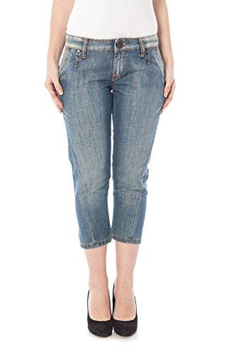 Killah 3 Jeans Pinocchietto Donna Azzurro 29