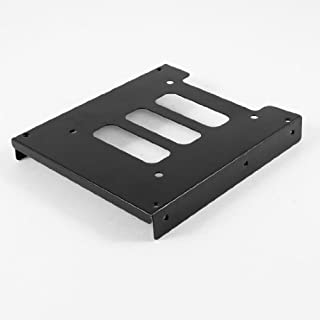 DealMux Black Metal 2,5 SSD HDD de 3.5 Montagem Titular Adaptador suporte do disco