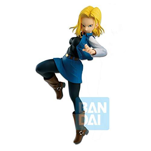 Banpresto-82731 Figura de Accion, The Battle Dragon Ball, Estatua Androide 18, Multicolor (Bandai 82731)
