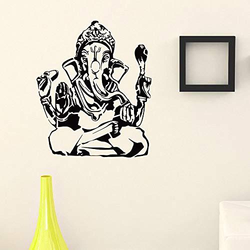 yaonuli dier olifant muursticker afneembare vinyl sticker Hindu Hindu stijl muursticker olifant muurschildering