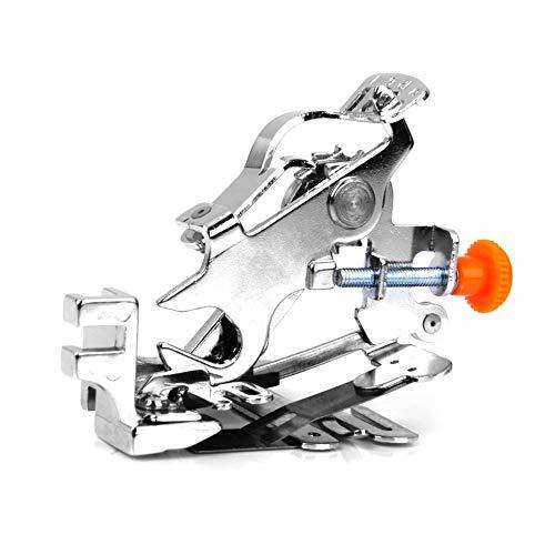 beijieaiguo Universal-Ruffler Fuß Haushalts Ruffler Nähfuß Low Shank Plissee Nähmaschine Ruffler Befestigung Nähfuß Ruffler Nähfußes