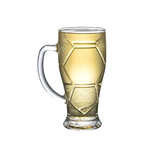 QLTY Jarra de Cerveza Personalizada,Vasos de Cerveza de Vidrio,Vasos de Vino,jarras de Vidrio,Vasos de cristalería,Vasos para Beber, Cerveza/Jugo/cóctel/Leche/Agua
