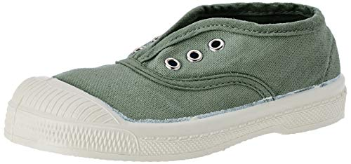 Bensimon Tennis Elly Enfant, Sneaker Infilare Unisex-Bambini, Verde (Amande 0601), 25 EU