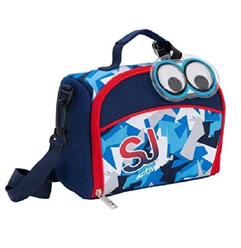 lunch bag SJ Active Time Seven 2018 - Bolsa para merienda SJ Gang azul 23 x 18,5 x 12 cm