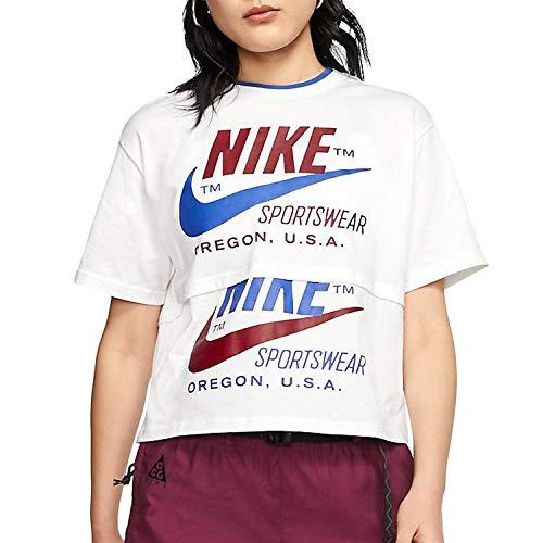 Nike Sportswear Icon Clash Chemise, Blanc, S Femme