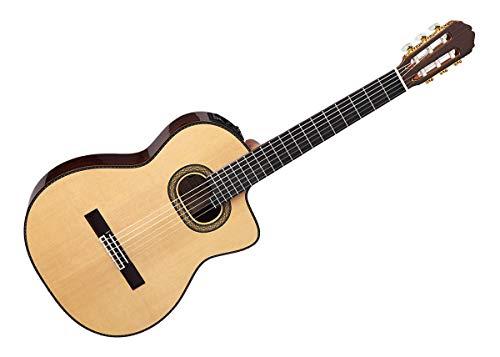 Takamine TH90 (Konzertgitarre mit Tonabnehmer mit Classical w/Cutaway Korpus) Natural Gloss