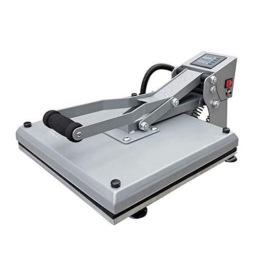 UOhost Heat Press Machine 15x15 inch Sublimation Heat Press Digital Industrial Quality Printing Transfer Heat Press Machine for T-Shirt
