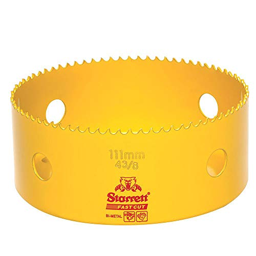 Starrett 63/fch079//–/Couronne pour carotteuse 79/mm couleur jaune