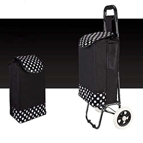 Carrello della spesa Carrello piccolo Sali le scale Pieghevole Facile da trasportare Carrelli a mano Rimorchio per bagagli 50KG