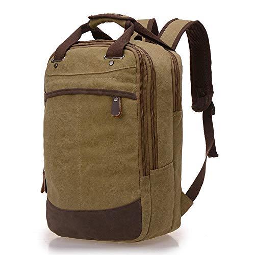 Mode Canvas Hign Capaciteit Rugzak Fit voor 14-15.6 inch Laptop Rugzak Casual Reizen Schoudertassen Multifunctioneel