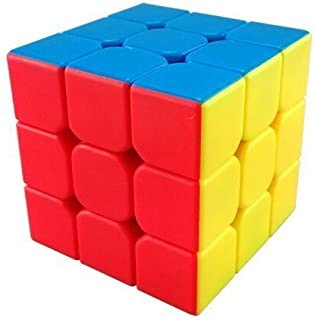 GoodCube YJ Yulong 3x3x3 Smooth Stickerless Speed Cube Puzzle, 56mm