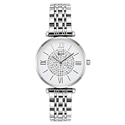 Seven Analogue Women's & Girls' Watch (Silver Dial),Seven,8418