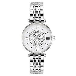Seven Analogue Women's & Girls' Watch (Silver Dial),Seven,8418