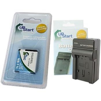 Micro USB Cargador para Canon Ixus 132//Ixus 135//Powershot SX400IS
