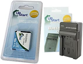 Replacement for Canon IXUS 132 Battery and Charger - Compatible with Canon NB-11L Digital Camera Batteries and Chargers (680mAh 3.6V Lithium-Ion)