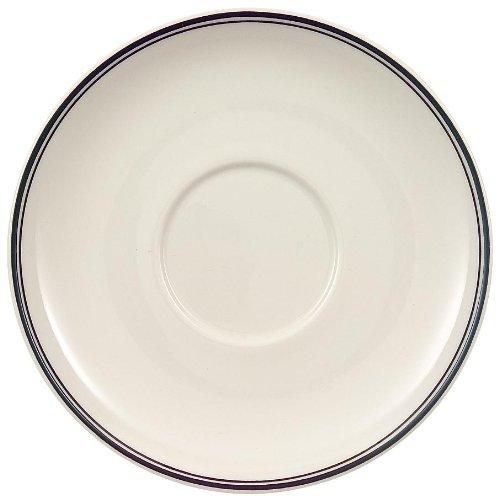 Villeroy & Boch Design Naif Mokka-/Espressountertasse, 12 cm, Premium Porzellan, Weiß/Schwarz
