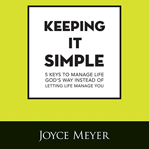 Keeping It Simple audiobook cover art