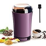 PARACITY Electric Coffee Grinder Grain Mill Portable Automatic Coffee Bean Grinder with Replacement...