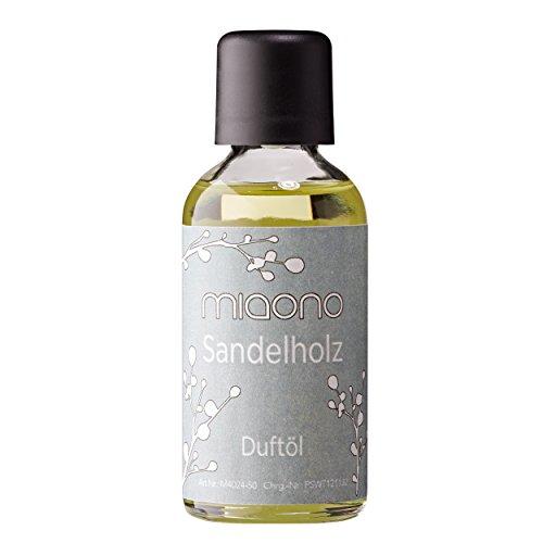 Raumduft Sandelholz - Duftöle von miaono - für Duftlampe und Diffuser (50ml)