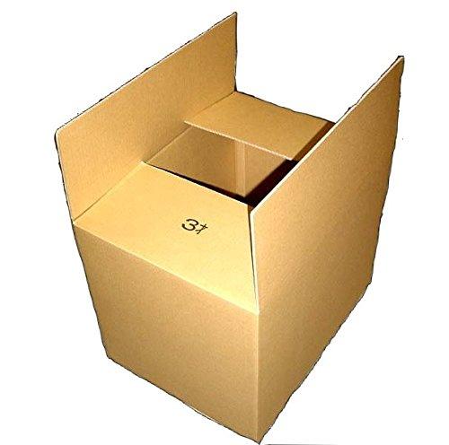引っ越し用に最適な大型シングルダンボール3才×1枚 580mm×430mm×450mm 4.5mm厚 引越や軽めの雑貨などの梱包に最適