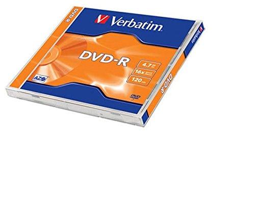 Verbatim DVD-R 4.7GB - Confezione da 1