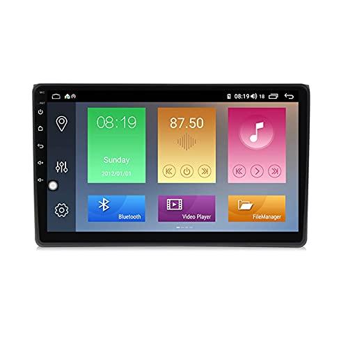 Android 10.0 Car Stereo 2 DIN Radio para A4 2002-2008 Navegación GPS 9 '' Unidad Principal Reproductor Multimedia MP5 Receptor de Video con 4G / 5G WiFi Carplay