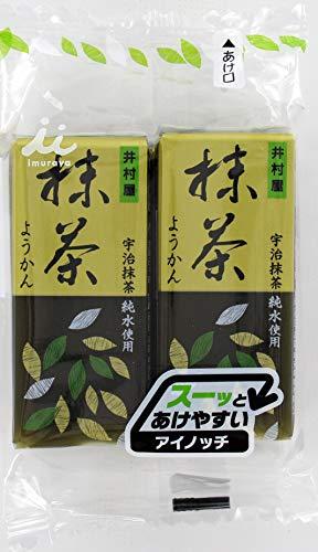 井村屋 4本入ミニようかん 抹茶 58g×4×6箱