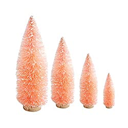 Light pink bottle brush trees
