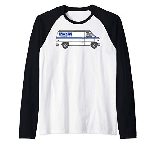 Netflix Stranger Things Hawkins Power And Light Van Camiseta
