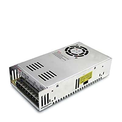 RATTMMOTOR Single Output 400W 36V 11A DC Switching Power Supply Input 115-230V/AC by Switch for LED, Display, Lighting Appliances and Industrial Control Equipment
