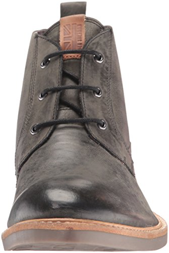 Ben Sherman Men's Luke Distressed Chukka Boot, Black, 8 M US